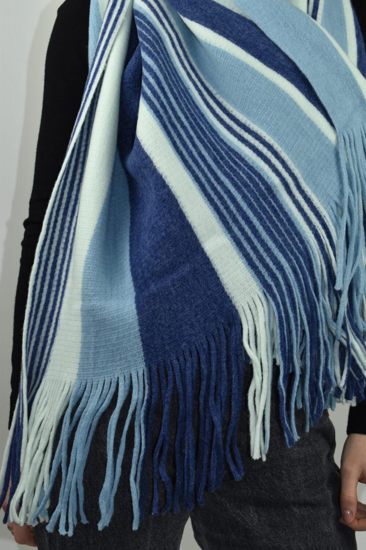 Skaysai 1903 sciarpa donna blu azzurro