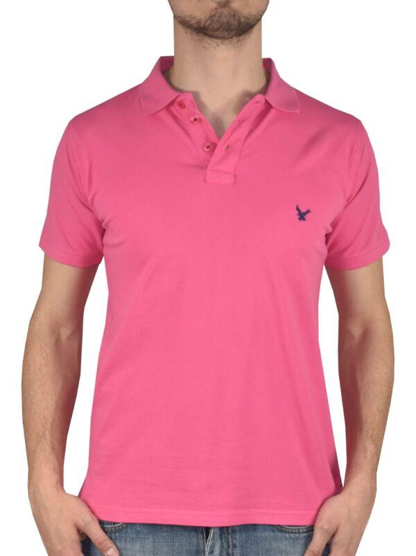 Prive pink polo uomo vestibilità classica
