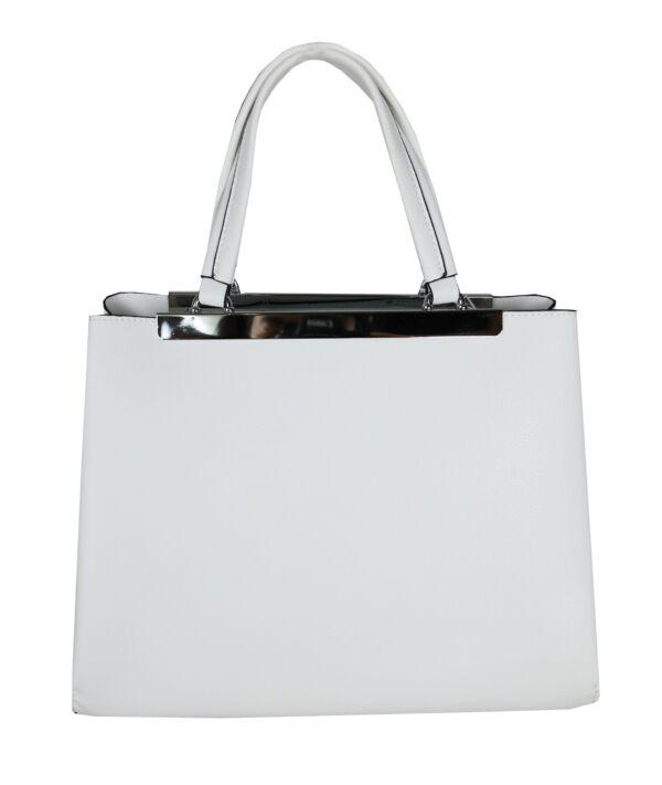 Bagctai2017 borsa a mano bianco