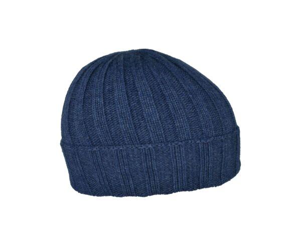 Wallis cappellino uomo tinta unita lavorazione a coste jeans