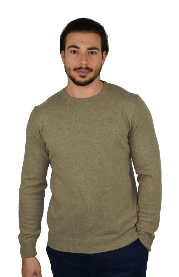 Maglia girocollo 1stamerican in cashmere blend