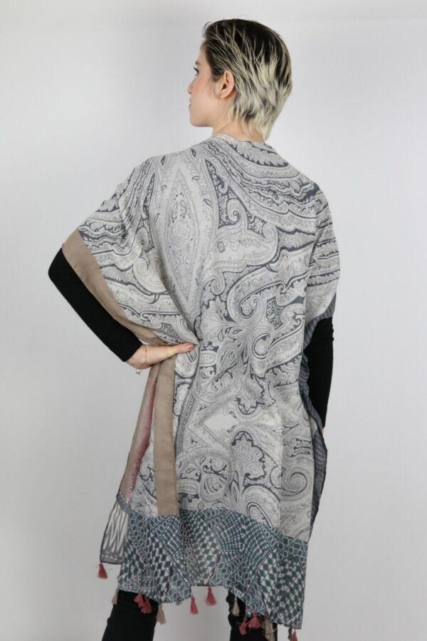 CLOTHES01 STOLA DONNA FOULARD CARDIGAN COPRISPALLE 1 1stAmerican elegante stola da donna foulard cardigan coprispalle