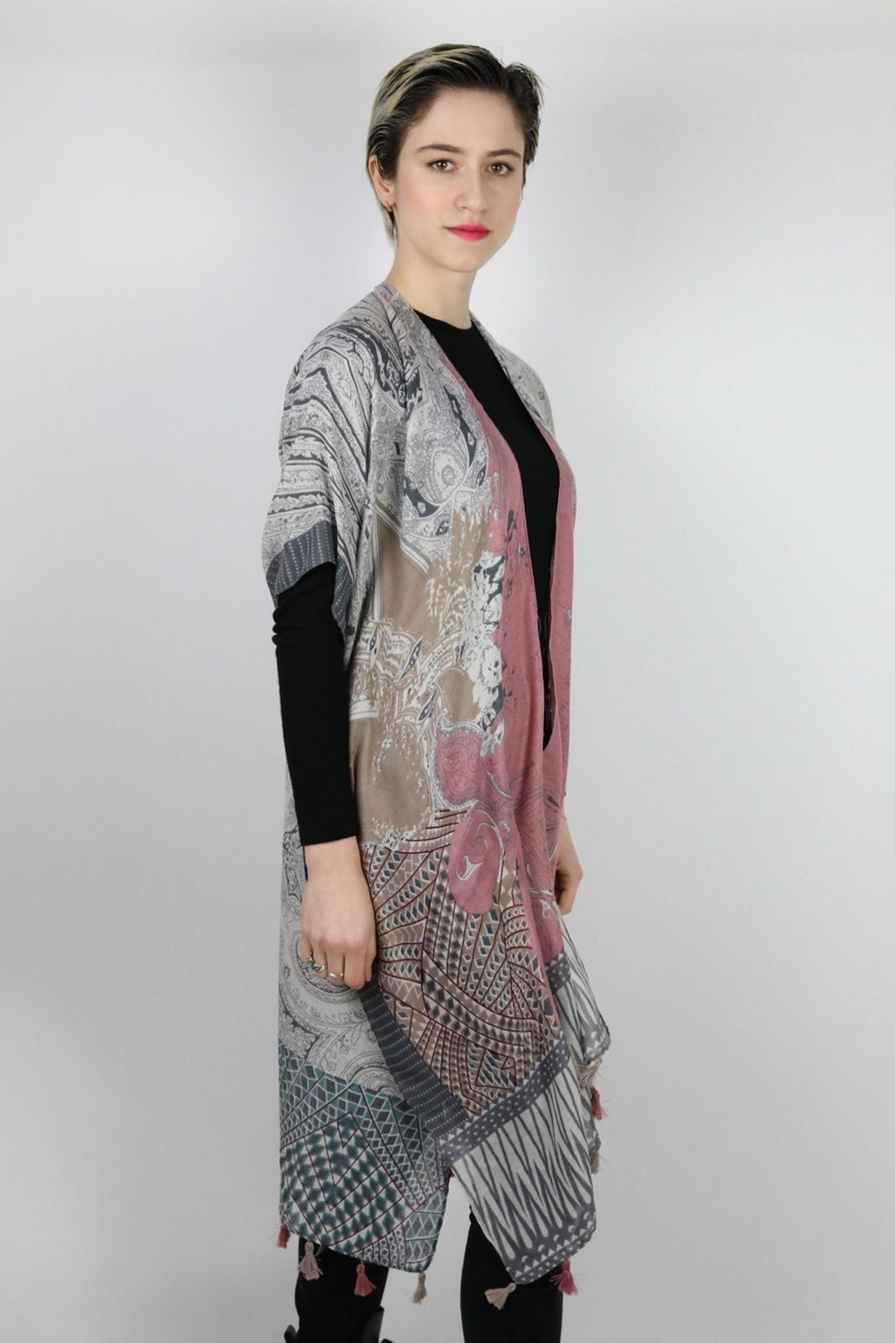 CLOTHES01 STOLA DONNA FOULARD CARDIGAN COPRISPALLE 3 1stAmerican elegante stola da donna foulard cardigan coprispalle