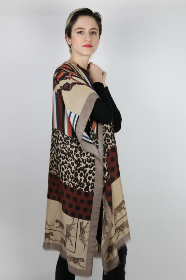 CLOTHES02 STOLA DONNA FOULARD CARDIGAN COPRISPALLE 3 1stAmerican elegante stola da donna foulard cardigan coprispalle