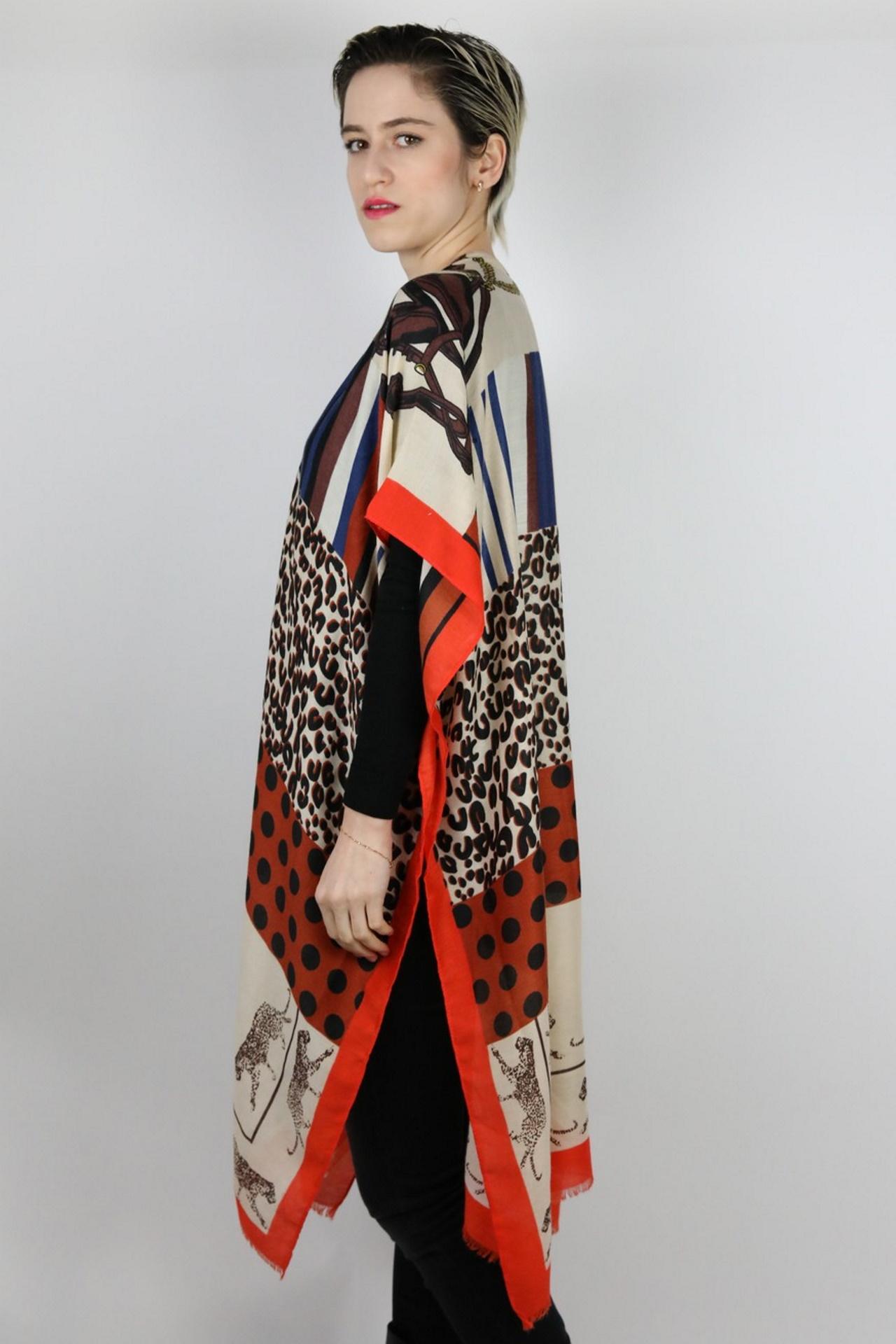 CLOTHES03 STOLA DONNA FOULARD CARDIGAN COPRISPALLE 2 1stAmerican elegante stola da donna foulard cardigan coprispalle