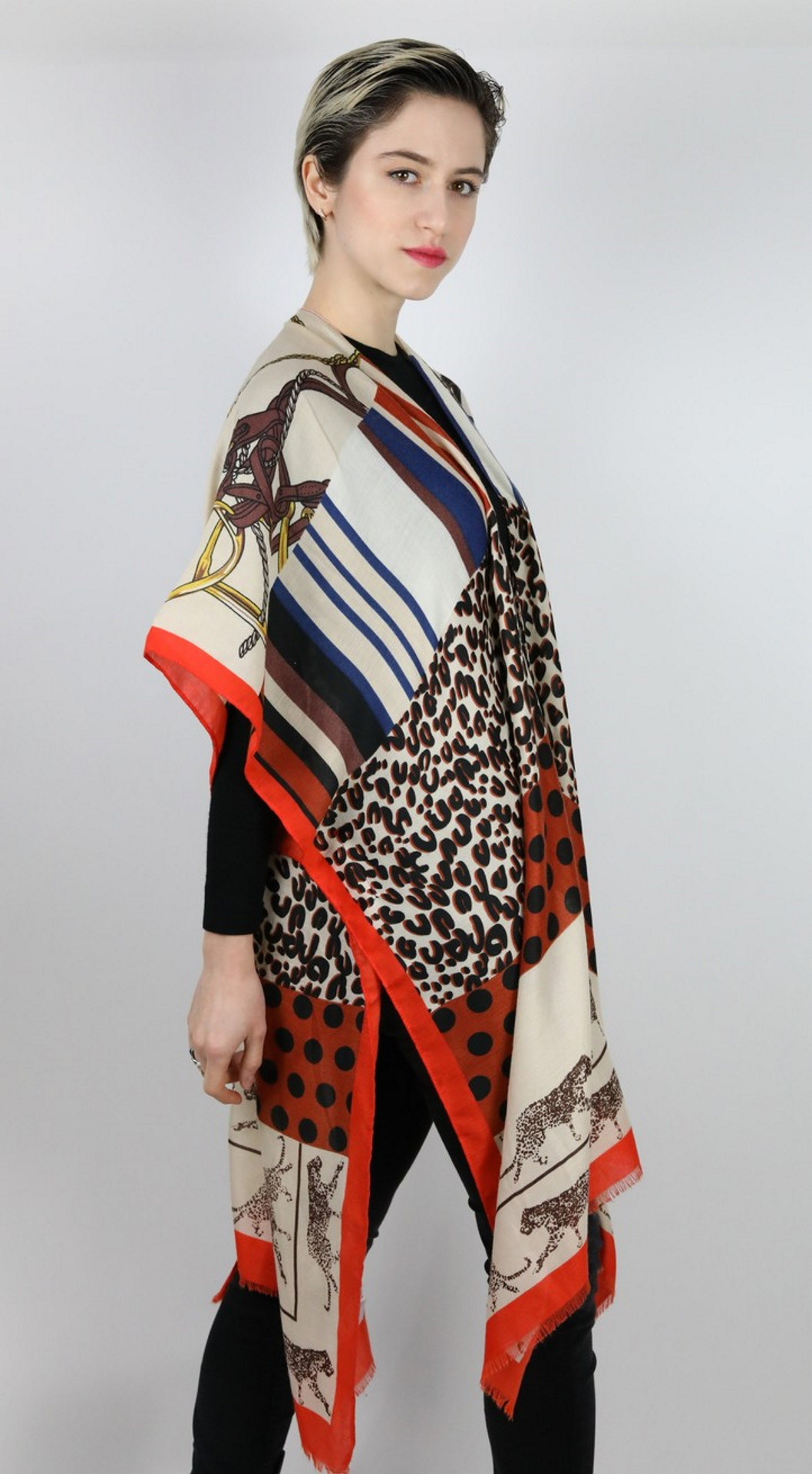 CLOTHES03 STOLA DONNA FOULARD CARDIGAN COPRISPALLE 3 1stAmerican elegante stola da donna foulard cardigan coprispalle