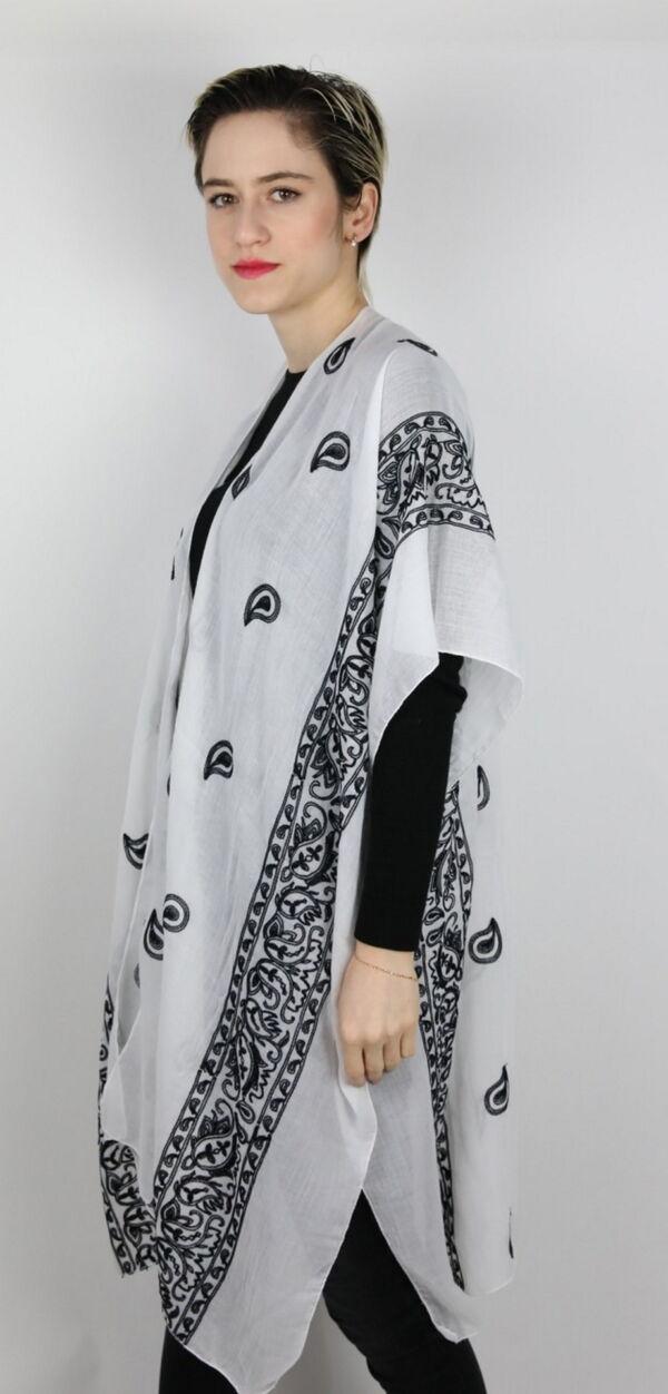 CLOTHES06 STOLA DONNA FOULARD CARDIGAN COPRISPALLE 2 1stAmerican elegante stola da donna foulard cardigan coprispalle