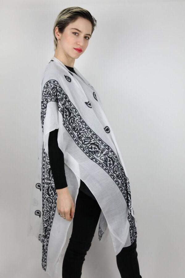 CLOTHES06 STOLA DONNA FOULARD CARDIGAN COPRISPALLE 3 1stAmerican elegante stola da donna foulard cardigan coprispalle