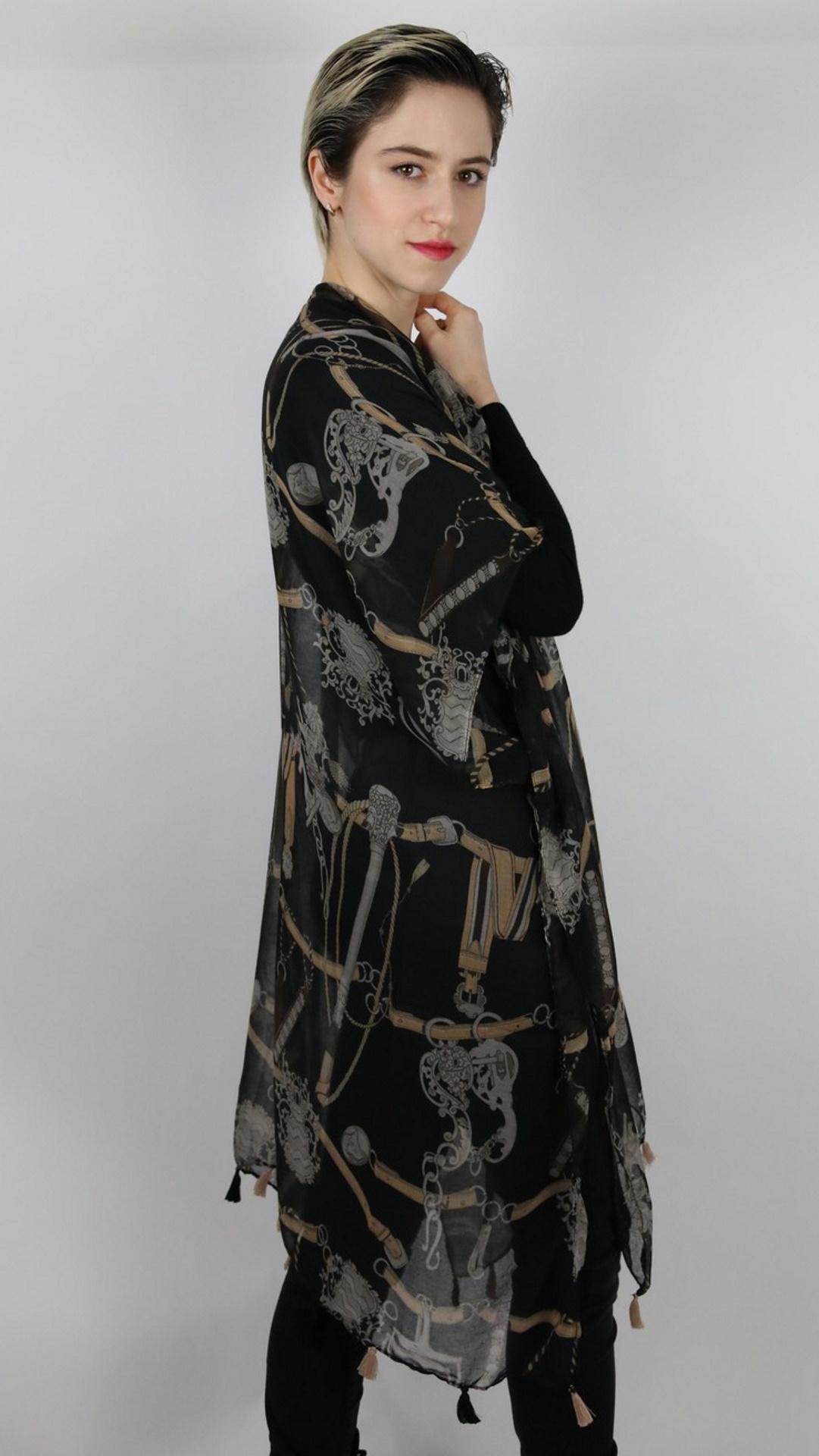 CLOTHES08 STOLA DONNA FOULARD CARDIGAN COPRISPALLE 3 1stAmerican elegante stola da donna foulard cardigan coprispalle