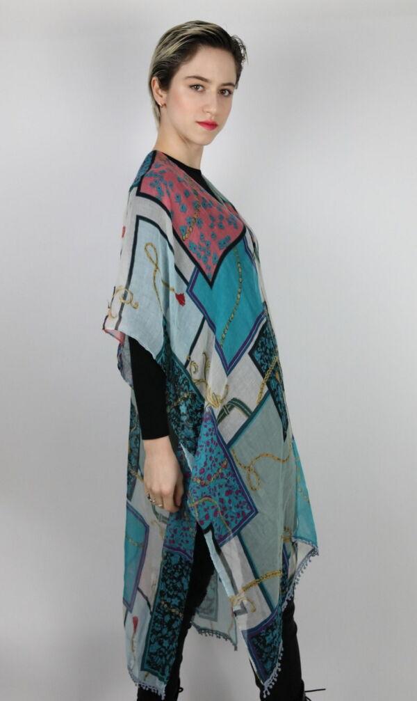 CLOTHES10 STOLA DONNA FOULARD CARDIGAN COPRISPALLE 3 1stAmerican elegante stola da donna foulard cardigan coprispalle