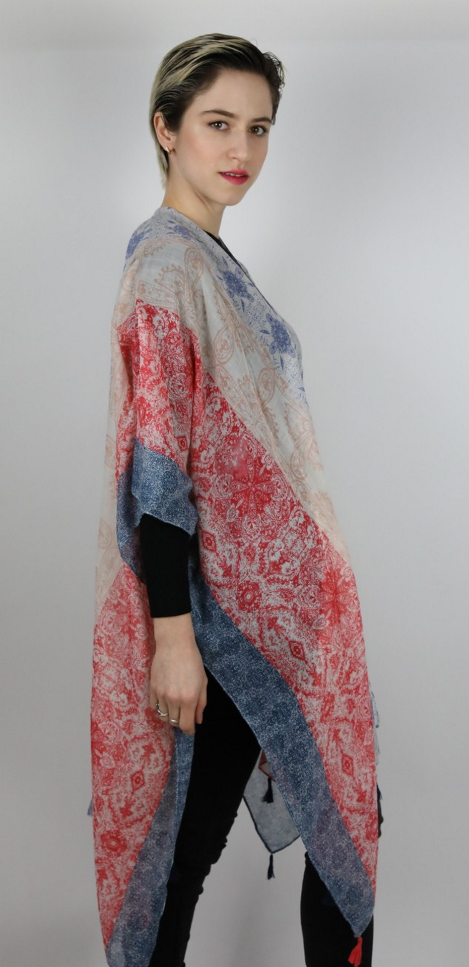 CLOTHES14 STOLA DONNA FOULARD CARDIGAN COPRISPALLE 3 1stAmerican elegante stola da donna foulard cardigan coprispalle