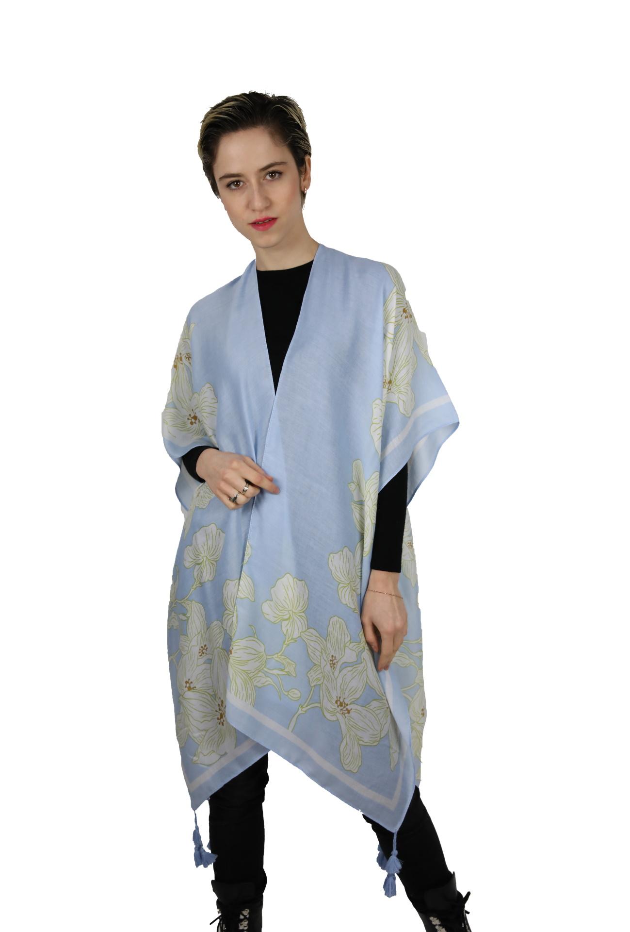 CLOTHES15 STOLA DONNA FOULARD CARDIGAN COPRISPALLE
