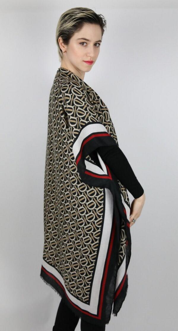 CLOTHES16 STOLA DONNA FOULARD CARDIGAN COPRISPALLE 3 1stAmerican elegante stola da donna foulard cardigan coprispalle