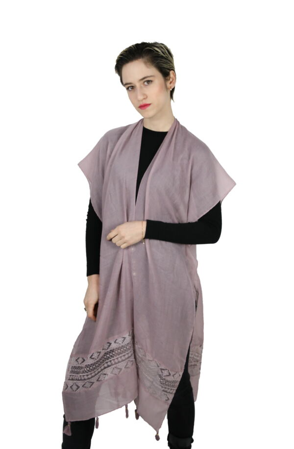 CLOTHES17/2 STOLA DONNA FOULARD CARDIGAN COPRISPALLE