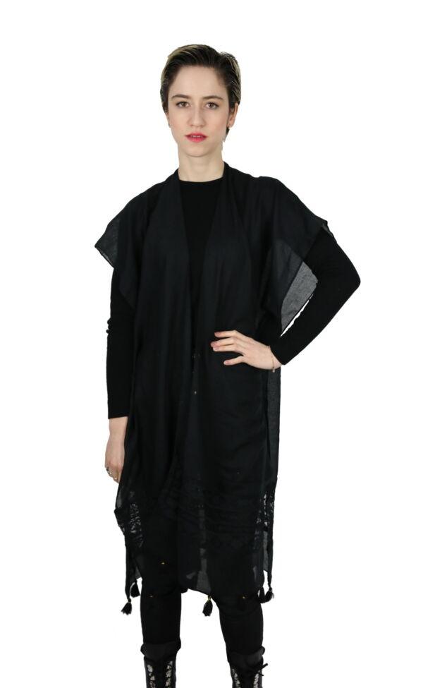 CLOTHES17/5 STOLA DONNA FOULARD CARDIGAN COPRISPALLE