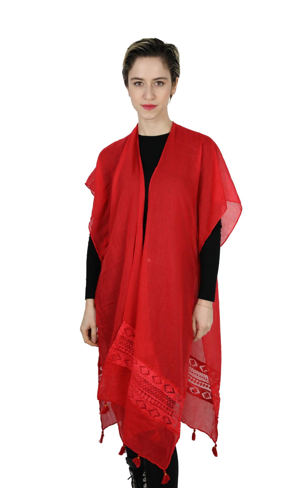 CLOTHES17/9 STOLA DONNA FOULARD CARDIGAN COPRISPALLE