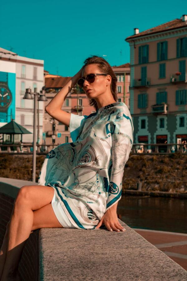 FOULARD B FOULARD SCIARPA DONNA 100 SETA 90CMX90CM 2 1stAmerican foulard/sciarpa 100% seta da donna 90cmx90cm