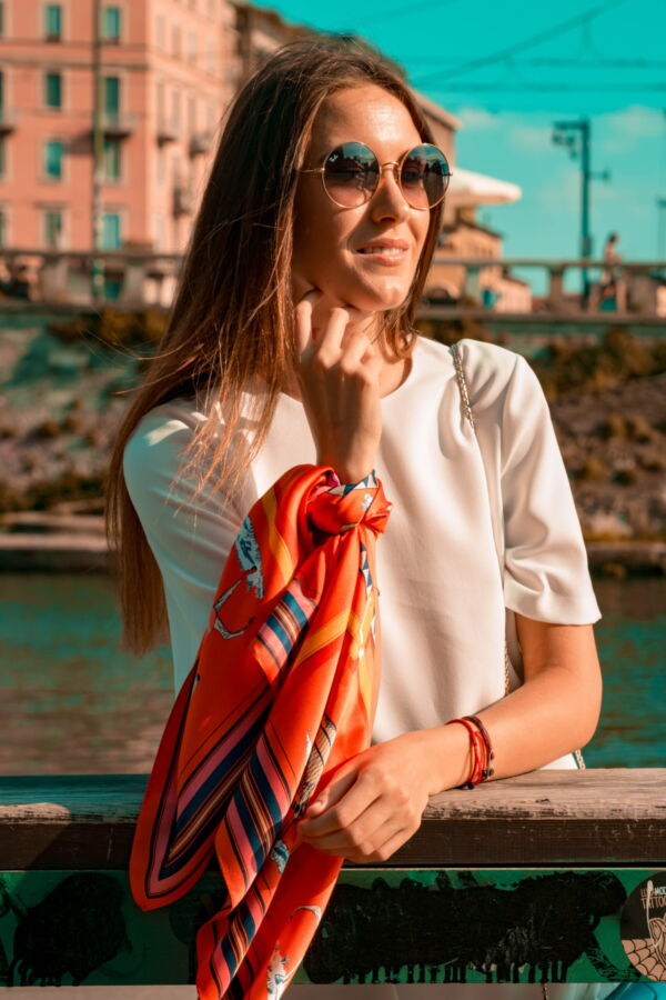 FOULARD D FOULARD SCIARPA DONNA 100 SETA 90CMX90CM 2 1stAmerican foulard/sciarpa 100% seta da donna 90cmx90cm