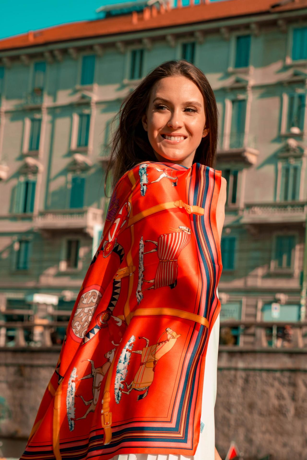 FOULARD D FOULARD SCIARPA DONNA 100 SETA 90CMX90CM 3 1stAmerican foulard/sciarpa 100% seta da donna 90cmx90cm