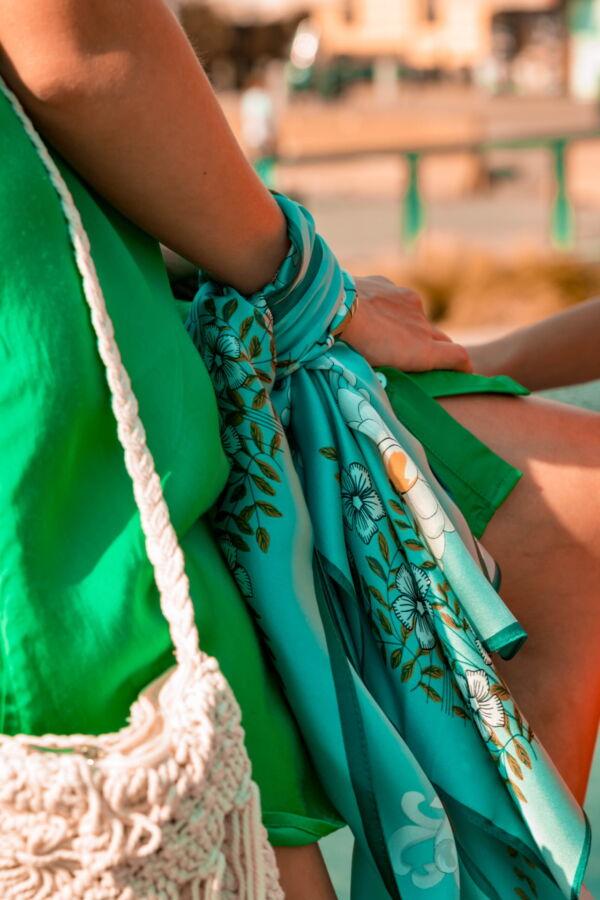 FOULARD E FOULARD SCIARPA DONNA 100 SETA 90CMX90CM 3 1stAmerican foulard/sciarpa 100% seta da donna 90cmx90cm