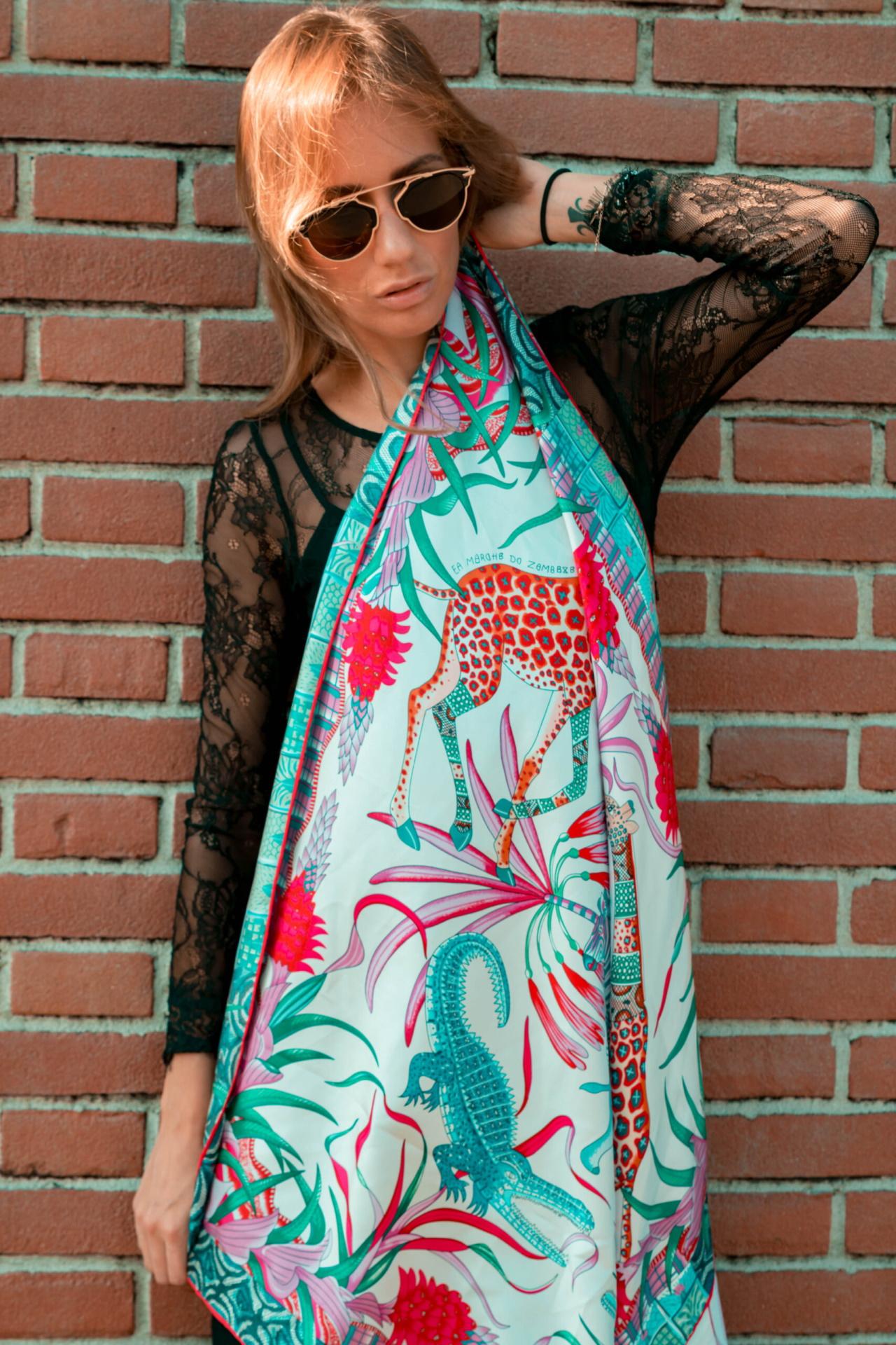 FOULARD H FOULARD SCIARPA DONNA 100 SETA 90CMX90CM 3 1stAmerican foulard/sciarpa 100% seta da donna 90cmx90cm