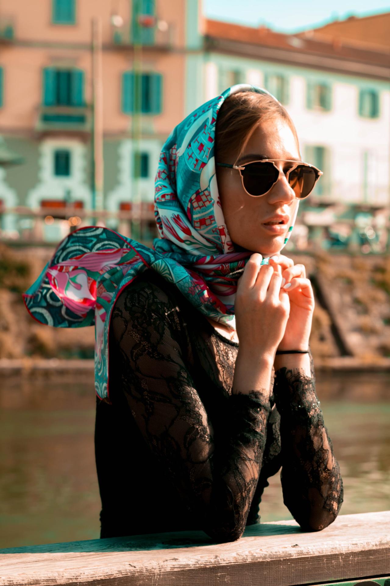 FOULARD H FOULARD SCIARPA DONNA 100 SETA 90CMX90CM 4 1stAmerican foulard/sciarpa 100% seta da donna 90cmx90cm