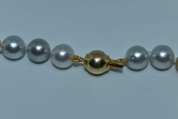 GEMSMU1155216 COLLANA DONNA 39 PERLE NATURALI MULTICOLORE 3 1stAmerican jewerly collana 39 perle naturali multicolore Ø9x118mm con chiusura in argento ag925