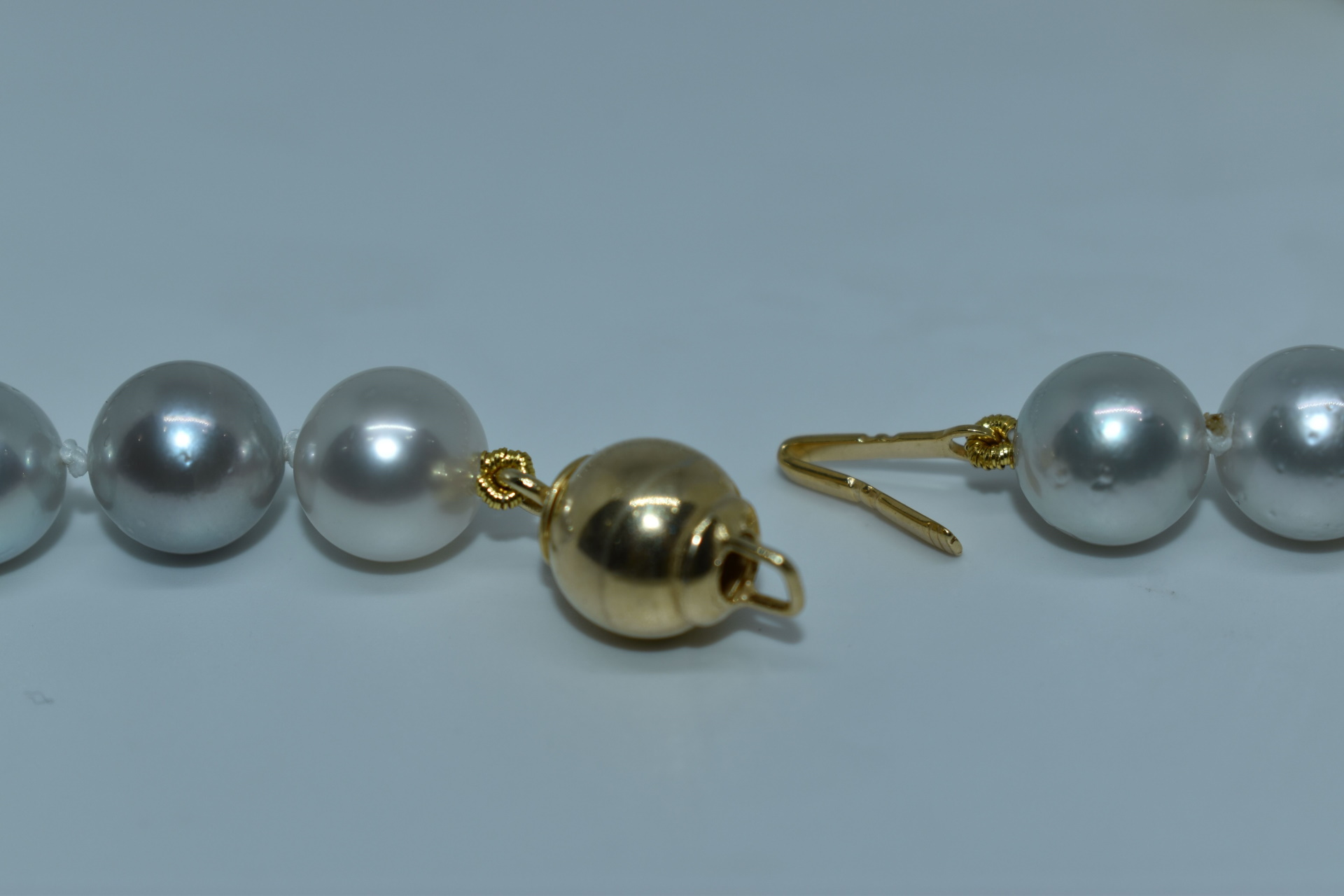 GEMSMU1155216 COLLANA DONNA 39 PERLE NATURALI MULTICOLORE 4 1stAmerican jewerly collana 39 perle naturali multicolore Ø9x118mm con chiusura in argento ag925