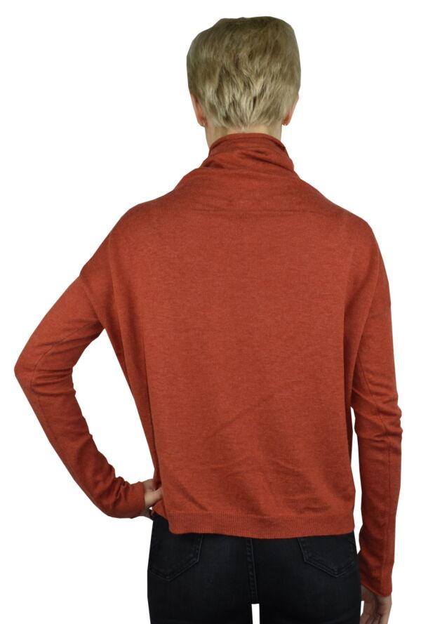 GIADA BRUCIATO MAGLIA DONNA CASHMERE SETA COLLO ALTO MANICA LUNGA 1 1stAmerican maglia dolcevita collo alto da donna in seta cashmere - maglione manica lunga invernale finezza 14