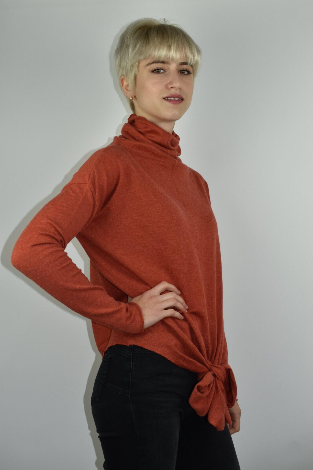GIADA BRUCIATO MAGLIA DONNA CASHMERE SETA COLLO ALTO MANICA LUNGA 5 1stAmerican maglia dolcevita collo alto da donna in seta cashmere - maglione manica lunga invernale finezza 14