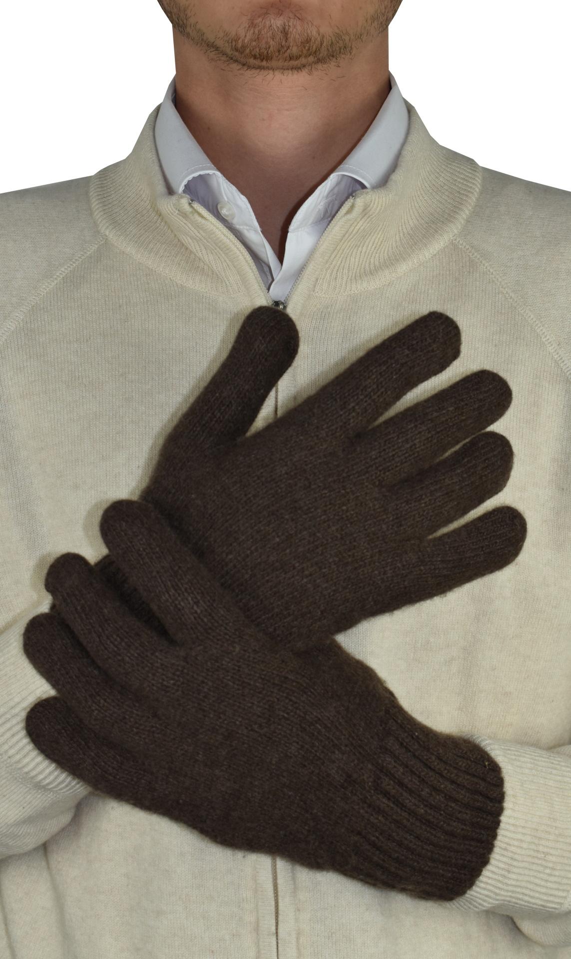 GLOVESDARIO MORO GUANTI UOMO 100 PURO CASHMERE 1 1stAmerican guanti 100% puro cashmere da uomo Made in Italy - caldi guanti invernali