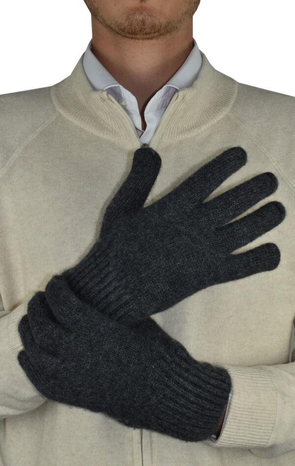 GLOVESMIXDARIO ANT GUANTI UOMO IN CASHMERE E LANA 1 1stAmerican guanti in lana e cashmere da uomo Made in Italy - caldi guanti invernali