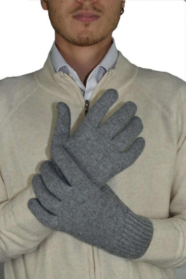 GLOVESMIXDARIO PERLA GUANTI UOMO IN CASHMERE E LANA 1 1stAmerican guanti in lana e cashmere da uomo Made in Italy - caldi guanti invernali