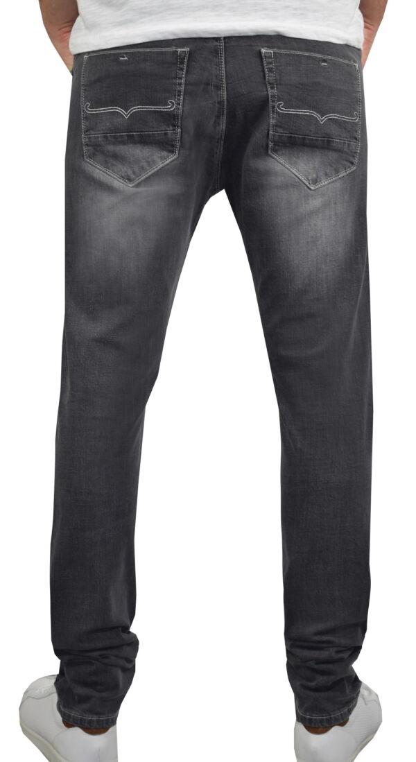 GREY JEANS UOMO 5 TASCHE GRIGIO CHIARO 1 1st american jeans fashion 5 tasche uomo colore grigio - 99% cotton 1% elastan denim 1150 oz