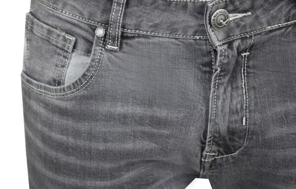 GREY JEANS UOMO 5 TASCHE GRIGIO CHIARO 3 1st american jeans fashion 5 tasche uomo colore grigio - 99% cotton 1% elastan denim 1150 oz