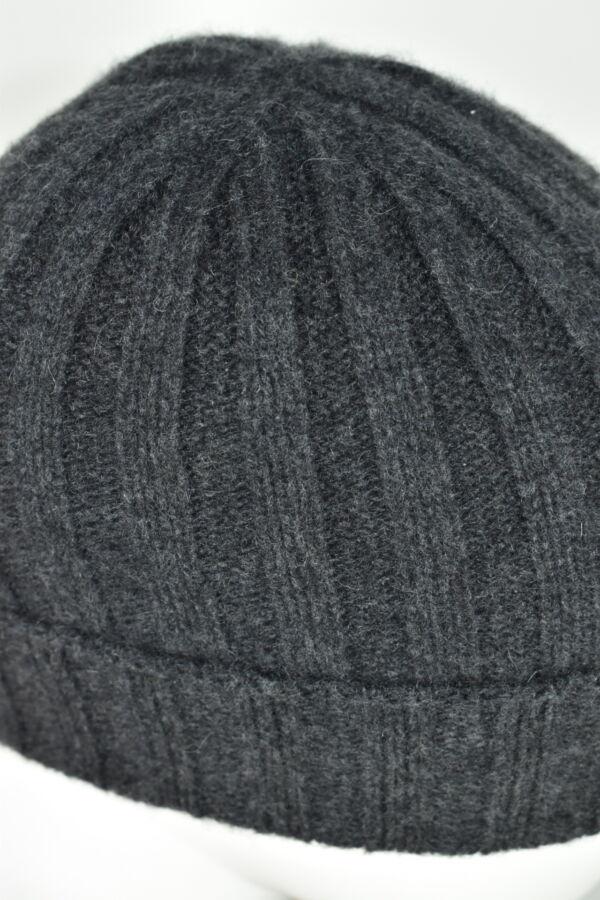 HENRYDARIO GRIGIO CAPPELLINO UOMO 100 PURO CASHMERE 3 1stAmerican cappellino 100% puro cashmere Made in Italy da uomo - caldo berretto invernale a coste larghe