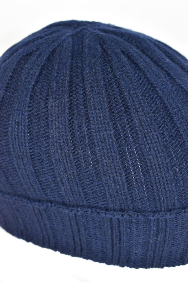 HENRYDARIO NAVY CAPPELLINO UOMO 100 PURO CASHMERE 3 1stAmerican cappellino 100% puro cashmere Made in Italy da uomo - caldo berretto invernale a coste larghe