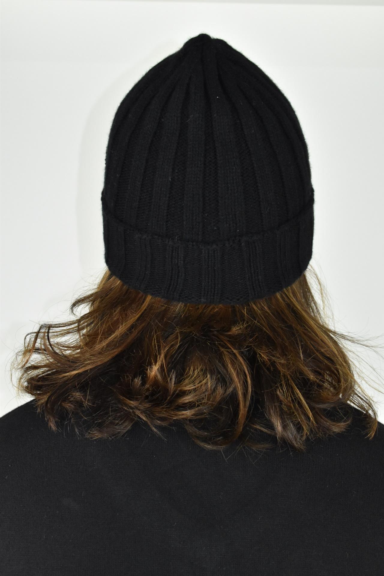 HENRYDARIO NERO CAPPELLINO UOMO 100 PURO CASHMERE 2 1stAmerican cappellino 100% puro cashmere Made in Italy da uomo - caldo berretto invernale a coste larghe