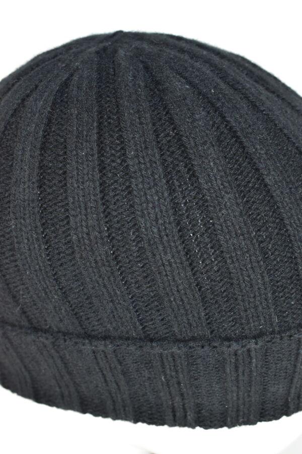 HENRYDARIO NERO CAPPELLINO UOMO 100 PURO CASHMERE 3 1stAmerican cappellino 100% puro cashmere Made in Italy da uomo - caldo berretto invernale a coste larghe