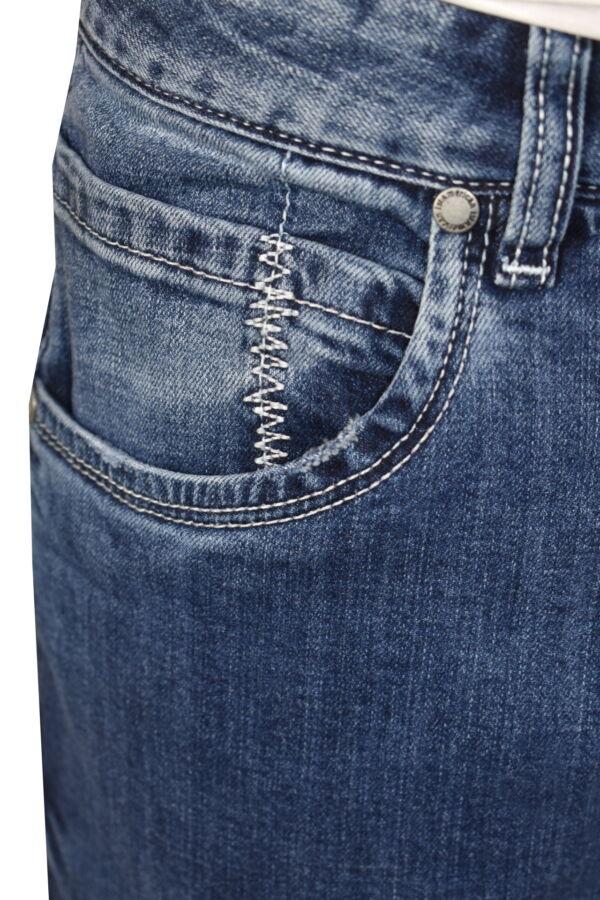 KIKI JEANS UOMO 5 TASCHE BLU MEDIO DENIM 2 1st american jeans fashion uomo 5 tasche colore blu medio denim - 99% cotton 1% elastan denim 1150 oz