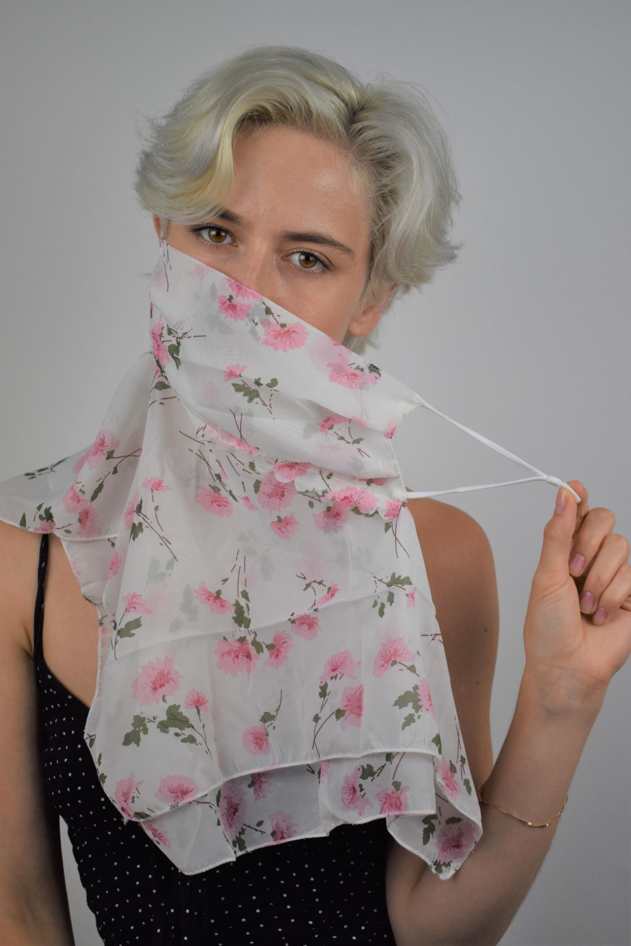 L01 FOULARD DONNA SCIARPA COPRIVISO ANTIVENTO 1 1stAmerican foulard da donna sciarpa copriviso antivento