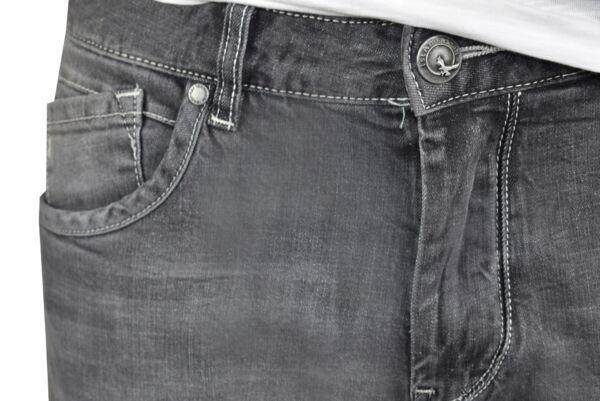 LEO JEANS UOMO 5 TASCHE GRIGIO CHIARO 3 1st american jeans fashion 5 tasche uomo colore grigio chiaro - 99% cotton 1% elastan denim 1150 oz