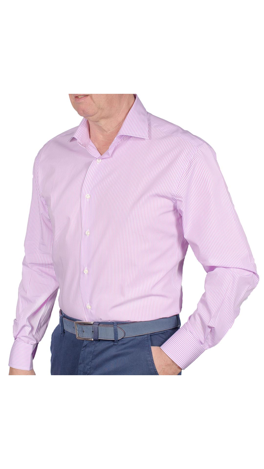LUXURYJT0086 CAMICIA UOMO DOPPIO RITORTO MANICA LUNGA 1 1stAmerican camicia elegante da uomo in collo classico 100% cotone alta qualità doppio ritorto manica lunga – camicia sartoriale regular fit