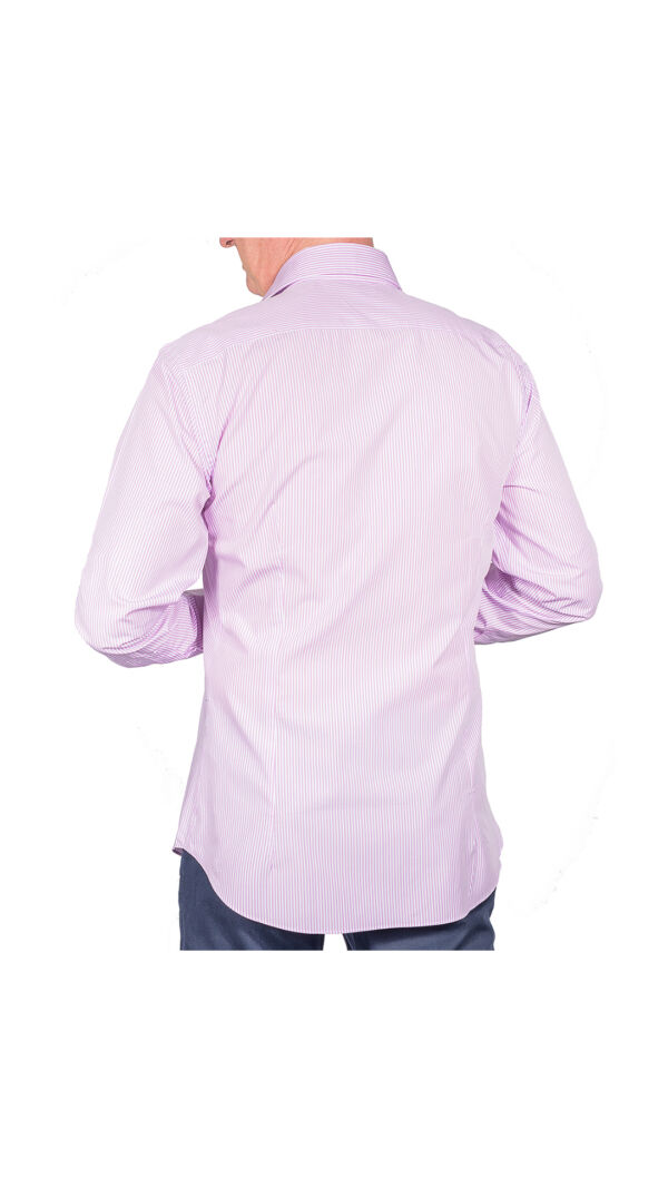 LUXURYJT0086 CAMICIA UOMO DOPPIO RITORTO MANICA LUNGA 2 1stAmerican camicia elegante da uomo in collo classico 100% cotone alta qualità doppio ritorto manica lunga – camicia sartoriale regular fit