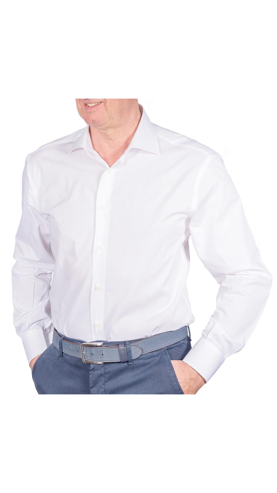LUXURYJT0092 CAMICIA UOMO DOPPIO RITORTO MANICA LUNGA 1 1stAmerican camicia elegante da uomo in collo classico 100% cotone alta qualità doppio ritorto manica lunga – camicia sartoriale regular fit