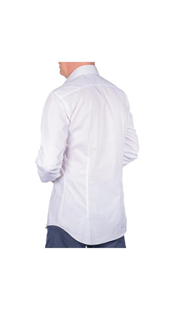 LUXURYJT0092 CAMICIA UOMO DOPPIO RITORTO MANICA LUNGA 2 1stAmerican camicia elegante da uomo in collo classico 100% cotone alta qualità doppio ritorto manica lunga – camicia sartoriale regular fit