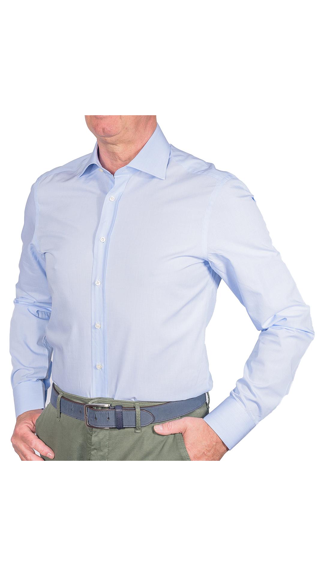 LUXURYJT0093 CAMICIA UOMO DOPPIO RITORTO MANICA LUNGA 1 1stAmerican camicia elegante da uomo in collo classico 100% cotone alta qualità doppio ritorto manica lunga – camicia sartoriale regular fit