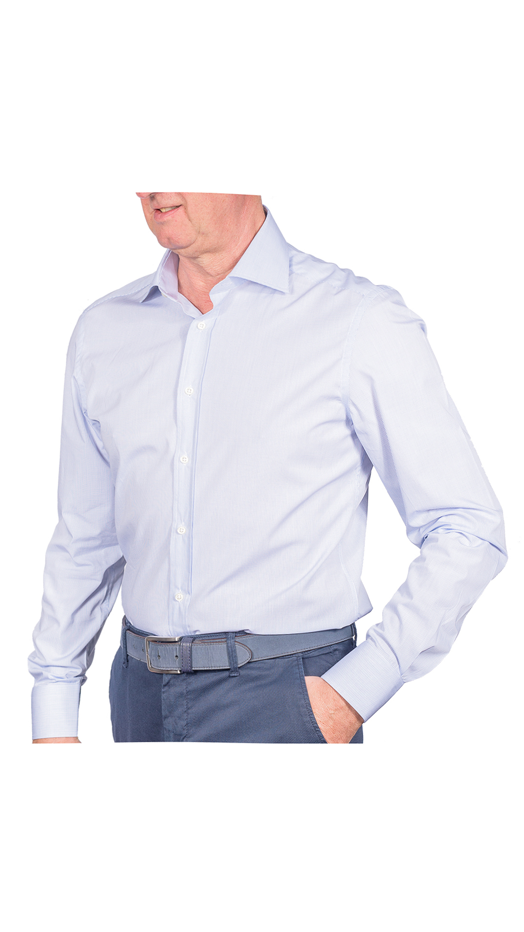 LUXURYJT0097 CAMICIA UOMO DOPPIO RITORTO MANICA LUNGA 1 1stAmerican camicia elegante da uomo in collo classico 100% cotone alta qualità doppio ritorto manica lunga – camicia sartoriale regular fit