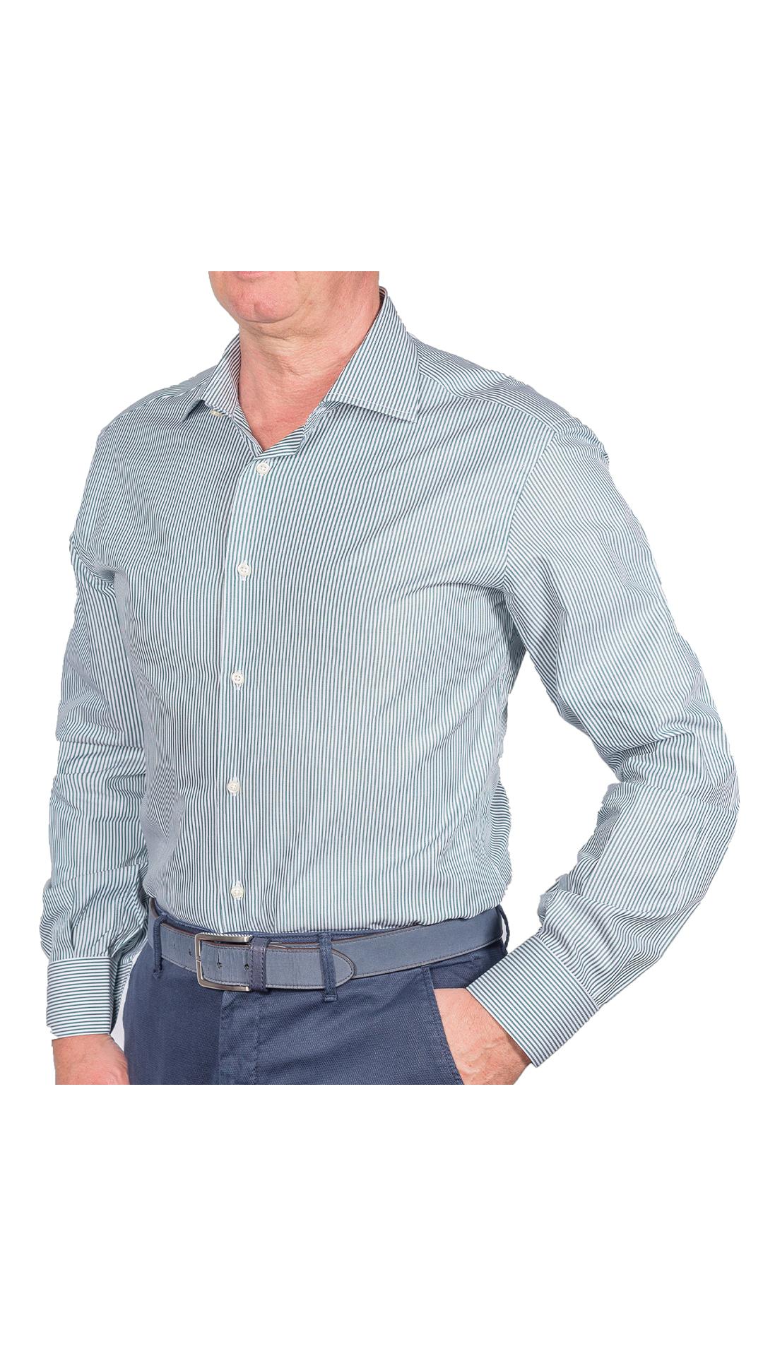 LUXURYJT0100 CAMICIA UOMO DOPPIO RITORTO MANICA LUNGA 1 1stAmerican camicia elegante da uomo in collo classico 100% cotone alta qualità doppio ritorto manica lunga – camicia sartoriale regular fit