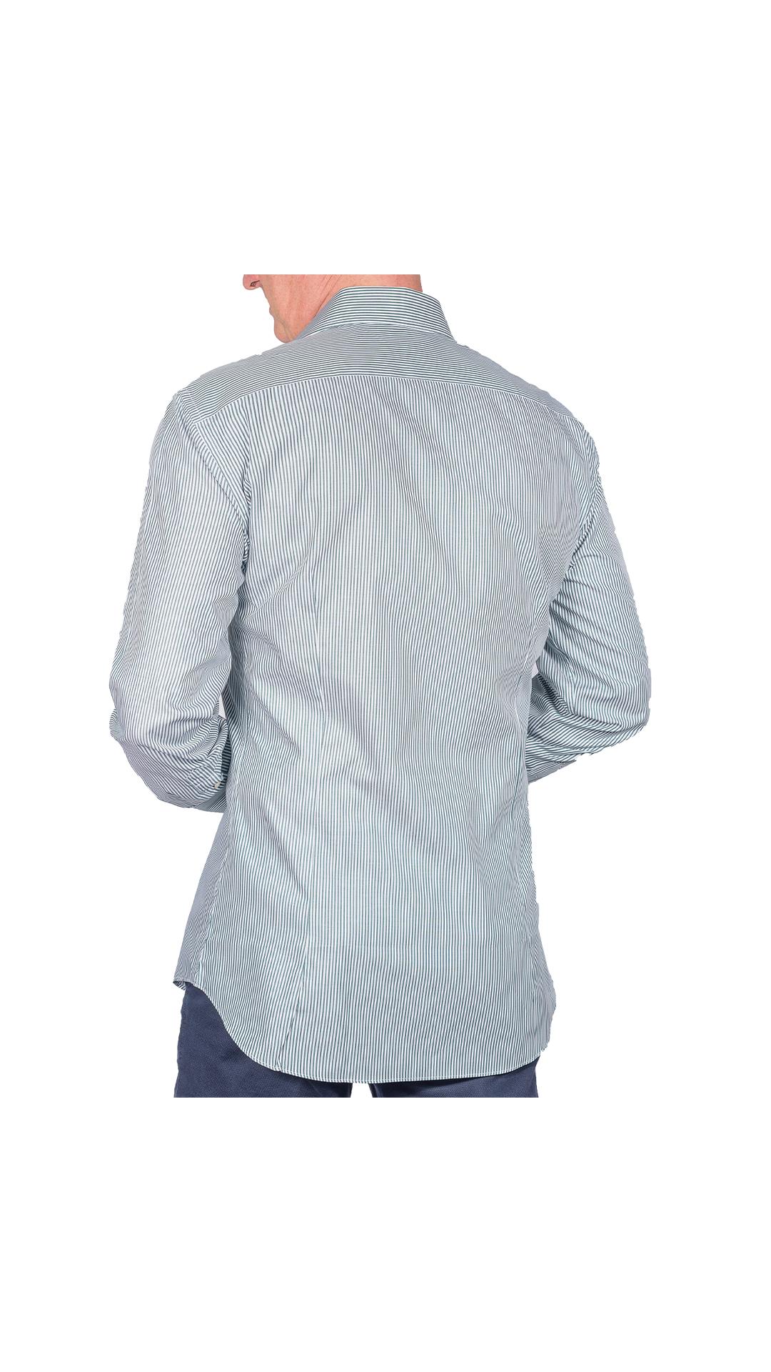 LUXURYJT0100 CAMICIA UOMO DOPPIO RITORTO MANICA LUNGA 2 1stAmerican camicia elegante da uomo in collo classico 100% cotone alta qualità doppio ritorto manica lunga – camicia sartoriale regular fit